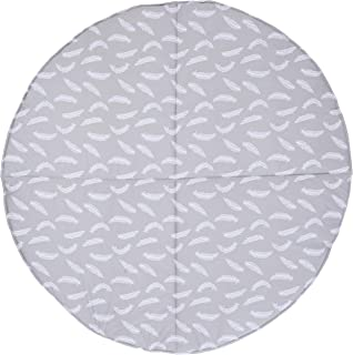 Bambella Designs Play Mat, Feathers, Grey