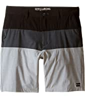 Billabong Kids - Crossfire X Tribong Boardshorts (Big Kids)