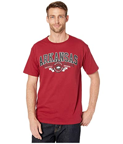 Champion College Arkansas Razorbacks Jersey Tee (Garnet) Men