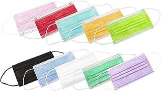 Mascarillas Higiénicas 3 Capas ADULTOS 20 Unidades (Mixto Colores c1)