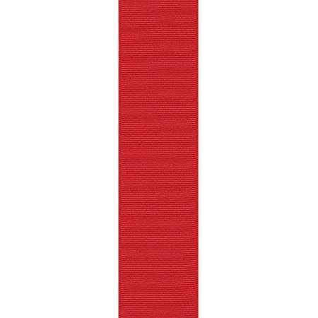 Offray Beet Red Grosgrain Ribbon 1 12 inches wide x 10 yards SECOND QUALITY FLAWED Burgundy Ribbon