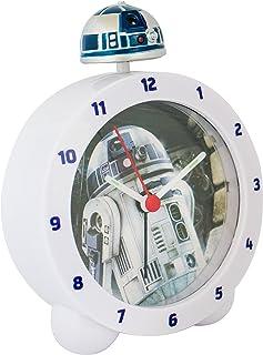 Zeon 10645 - Reloj despertador, replica R2D2 de Star Wars,