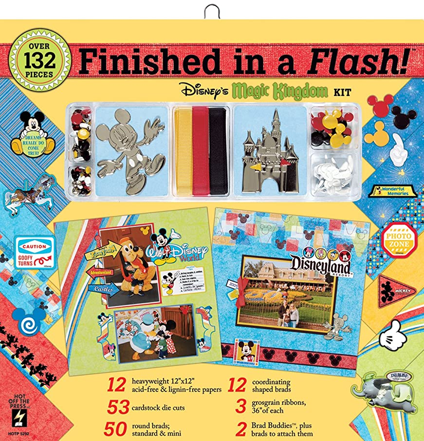 Hot Off The Press Finished in A Flash Page Kit 12
