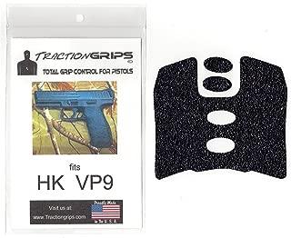 Tractiongrips Rubber Grip Tape Overlay for H&K VP9 Pistol Grips