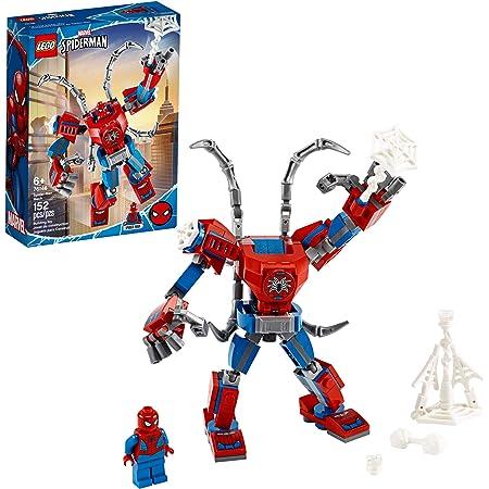 LEGO Kit de construcción Marvel Spider-Man 76146 Armadura Robótica de Spider-Man (152 Piezas)