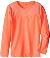 Seafolly Kids - Peekaboo Long Sleeve Rashguard (Infant/Toddler/Little Kids)