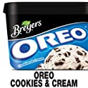 Breyers Frozen Dairy Dessert, OREO Cookies & Cream, 48 oz