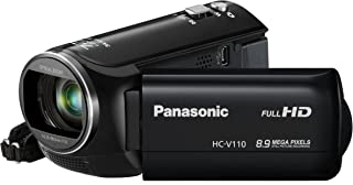 Panasonic HC-V110 Light Weight HD 1080p Digital Camcorder (black) (Discontinued by Manufacturer)