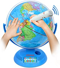 Little Experimenter Talking Globe - Interactive Globe for Kids Learning with Smart Pen - Educational World Globe for Child...