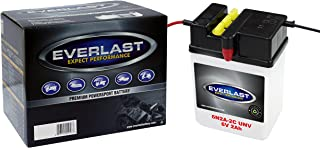EverLast 6N2A-2C UNV 6V Convential Battery with Acid Pack