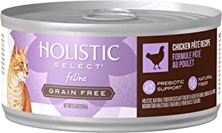 Eagle Pack & Holistic Holistic Select Natural Wet Grain Free Canned Cat Food Chicken Pâté