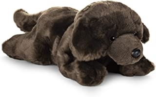 GUND Chocolate Labrador Dog Stuffed Animal Medium 14 inch Plush Toy