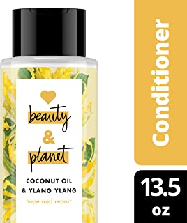 Love Beauty and Planet Coconut Oil & Ylang Ylang Conditioner for Dry Hair, 13.5 Fl Oz