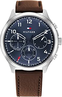 TOMMY HILFIGER ASHER MEN's NAVY DIAL WATCH - 1791855