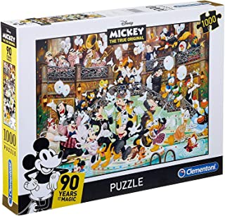 Clementoni Disney Mickey Mouse 90 Years of Magic 1000 Piece Jigsaw Puzzle