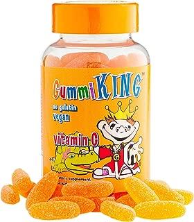 Gummi King Vitamin-C Supplement, Orange, 60 Count