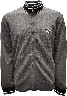 Emporio Armani 111532 9A571 - Sudadera con cremallera color gris