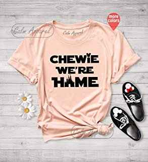 chewie we re home shirt disney