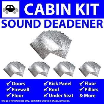 for Ford Mustang ~ in Cabin Kit Zirgo 314871 Heat and Sound Deadener