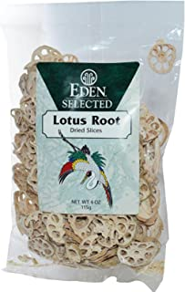 Eden Foods Selected Lotus Root Dried Slices - 4 oz