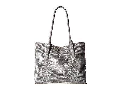 Hammitt Oliver Large (Mist Tejus/Brushed Silver) Handbags