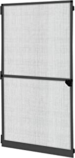 couleurs et tailles /à choisir Moustiquaire pour fen/êtres Confort avec cadre en aluminium Taille:100 x 120 cm Couleur:Anthracite nest pas n/écessaire de perforer ou de visser