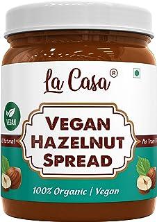 La Casa Vegan Hazelnut Chocolate Spread | All Natural | Product of India | 350g |