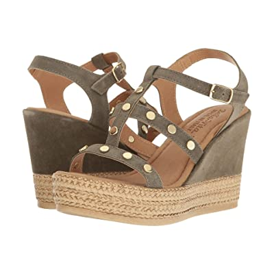 Bella-Vita Rin-Italy (Olive Suede Leather) Women