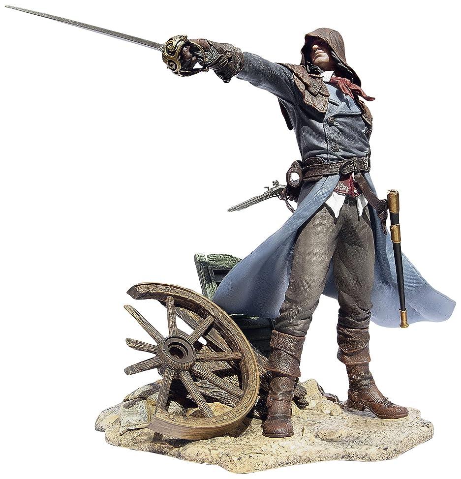 深遠調整するパトロールアサシンクリードユニティ置物。アルノ:フィアレスアサシン   Assassin's Creed Unity Figurine. Arno: The Fearless Assassin
