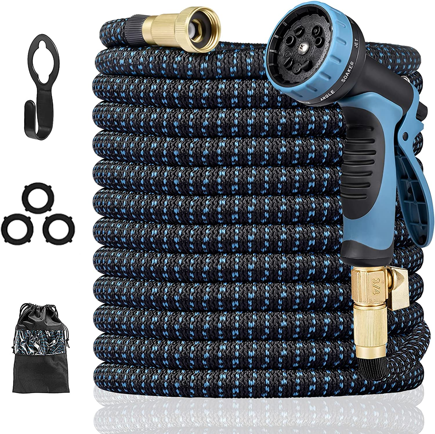 Harnestle New Free Shipping Expandable Garden Hose 50 Water ft Flexible Phoenix Mall with
