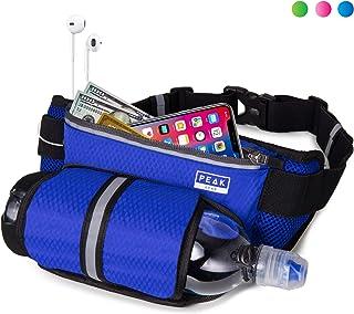 Peak Gear Waist Pack and Water Bottle Belt – New for 2020 – Hydration Fanny..