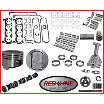 Engine Rebuild Overhaul Kit Fits 1994-1997 Ford 351 351W 5.8L OHV V8 16V Windsor Bronco
