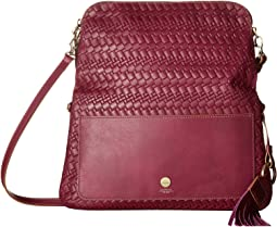 Lodis Accessories - Rodeo Woven RFID Aphra Zip Flap Crossbody