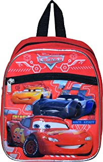 "Group Ruz Cars McQueen 10"" Mini Backpack with Heat Sealed Artworks"