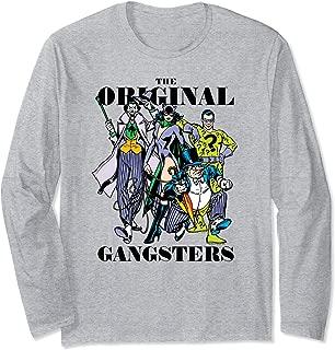 Batman Original Gangsters Longsleeve T Shirt Long Sleeve T-Shirt