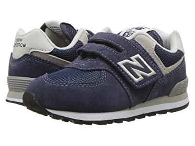 New Balance Kids KX574v1I (Infant/Toddler) (Navy/Grey) Boys Shoes