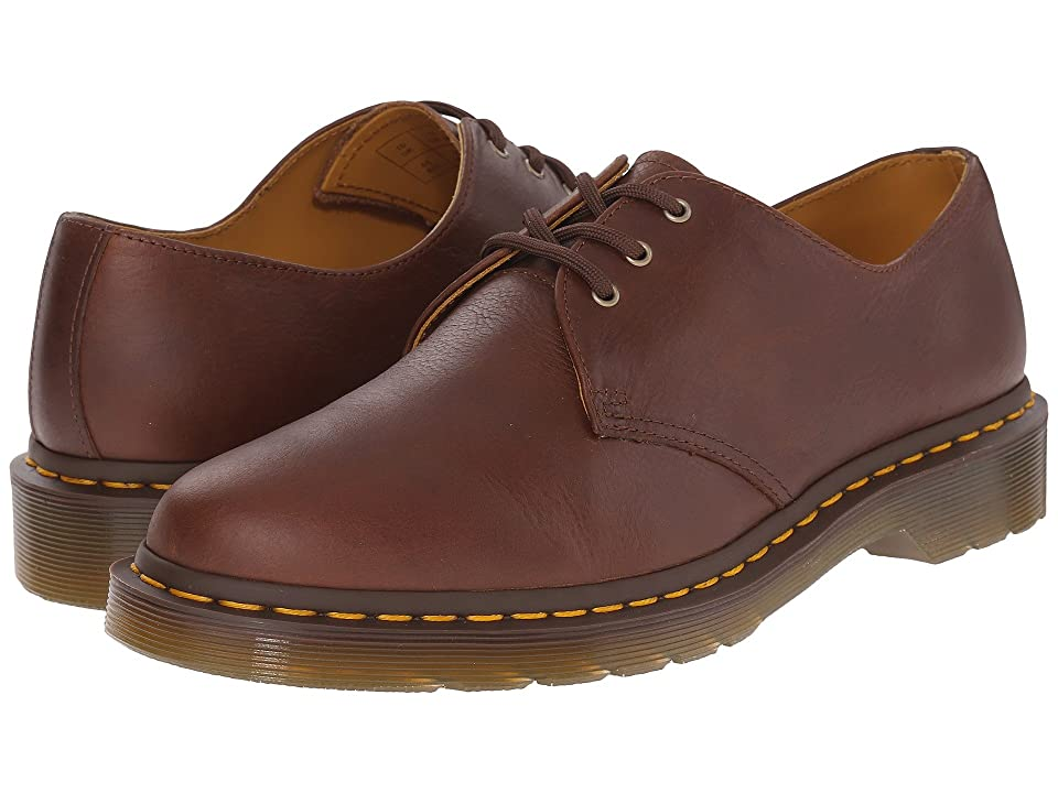 Dr. Martens 1461 3-Eye Shoe Soft Leather (Tan Carpathian) Men