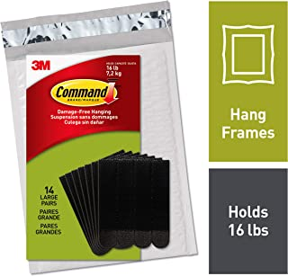 Command Picture Hanging Strips, Black