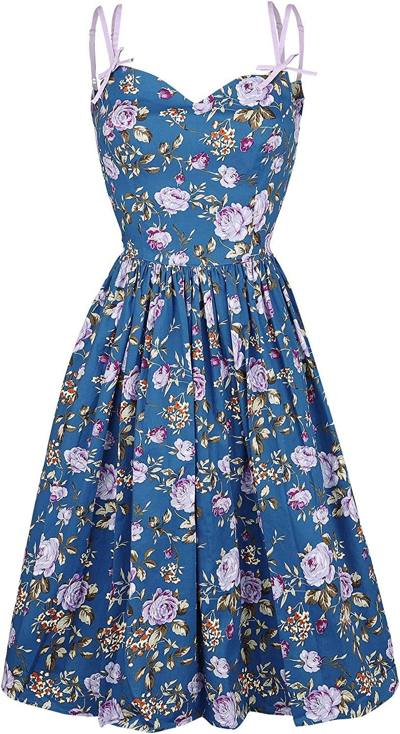 Hell Bunny purpleta 50's Dress