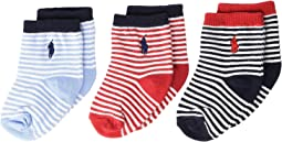 St. James Stripe 3-Pack (Infant)