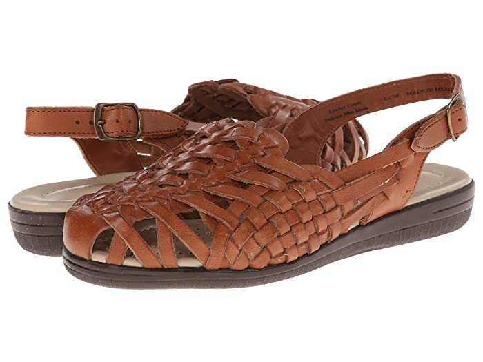 Retro Vintage Style Wide Shoes Comfortiva Tobago - Soft Spots Rust Tan Womens Shoes $62.99 AT vintagedancer.com