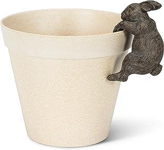 "Abbott Collection 27-PEEK-480 Hanging Rabbit-BRN-3.5"" H, Brown"