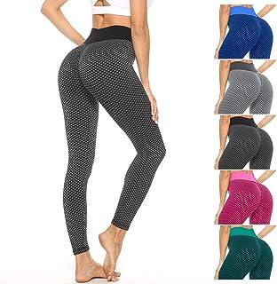 Maylai TIK Tok Leggings Yoga Pants High Waist for Women Booty Butt Leggings Bubble Hip Lifting Workout Pants