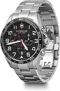 Victorinox - Hombre Field Force Chronograph - Reloj de Acero Inoxidable de Cuarzo analógico de fabricación Suiza 241855