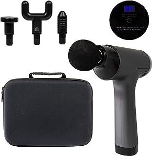 Silvergear Massage Gun PRO, Draagbaar Massage apparaat voor (diep) spierweefsel, Percussiemassageapparaat met 4 opzetstukken