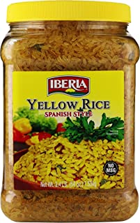 Iberia Yellow Rice Spanish Style, 54 Ounce
