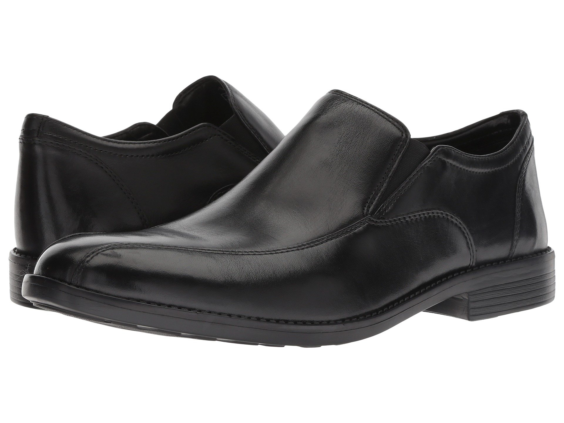 Step Birkett Birkett Bostonian Step Leather Leather Bostonian Black Black HqzAgwz