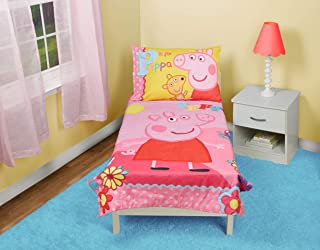 pink peppa pig toddler bed