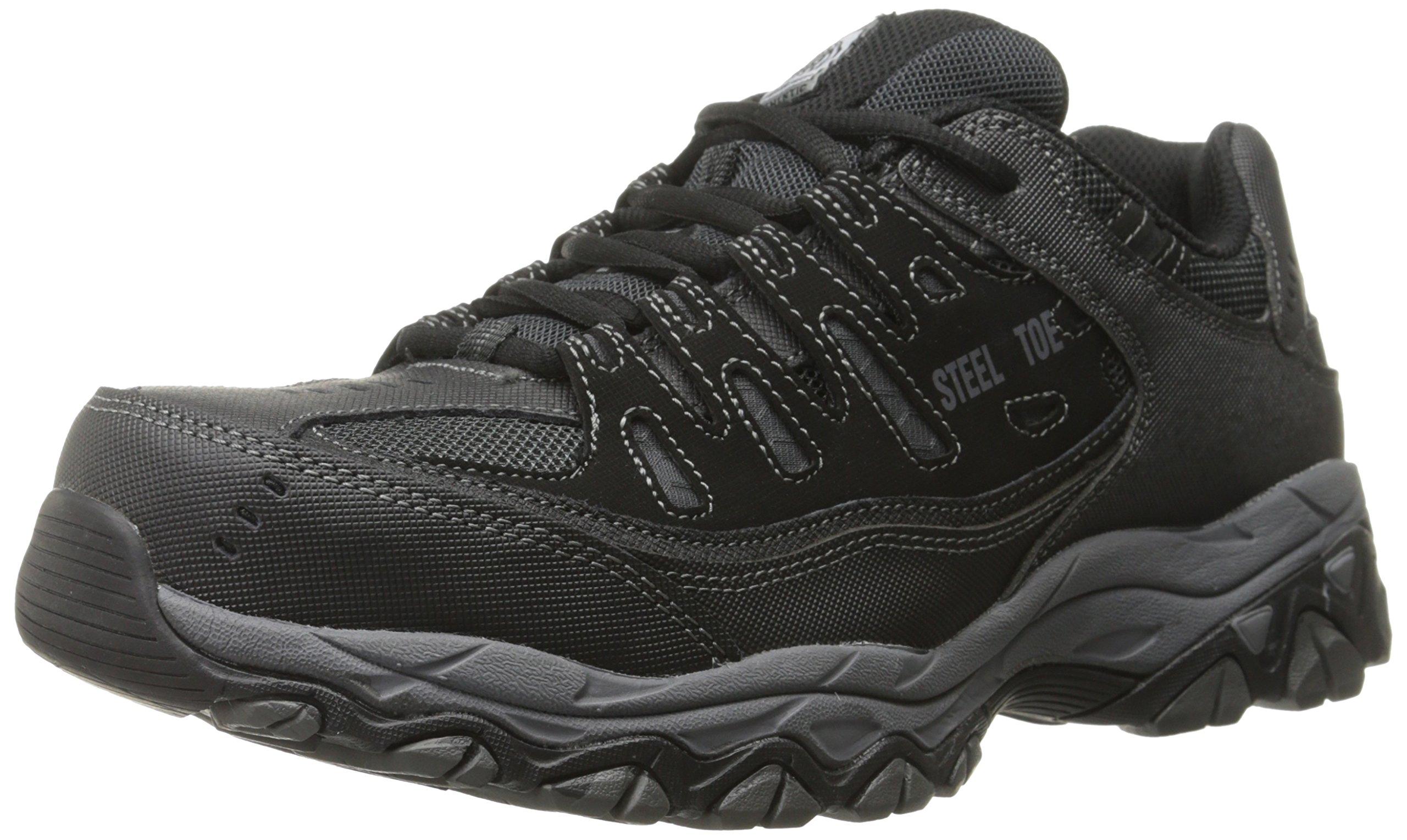 Skechers Casual Steel Sneaker Charcoal