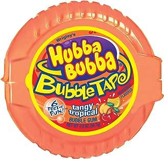 Hubba Bubba Bubble Tape Gum, Tangy Tropic, 2 Ounce